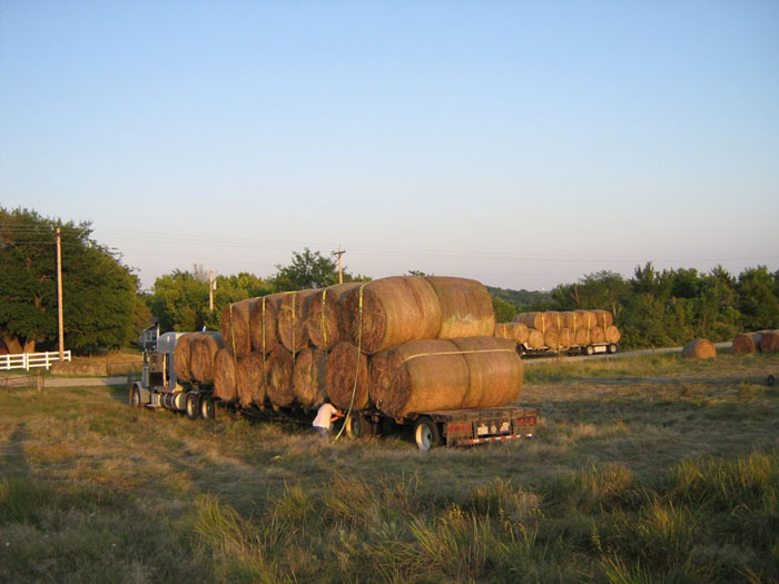 Four loads to Oklahoma relief