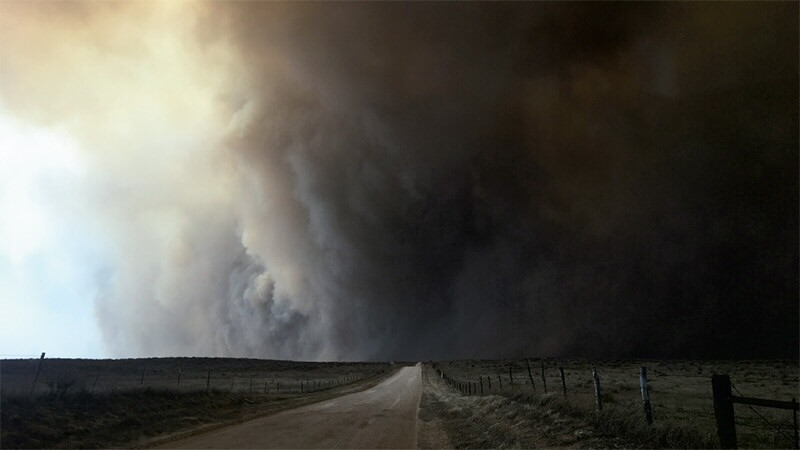 Kansas Wildfires 2017