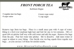 Front Porch Tea