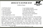 Hogue's Super Subs