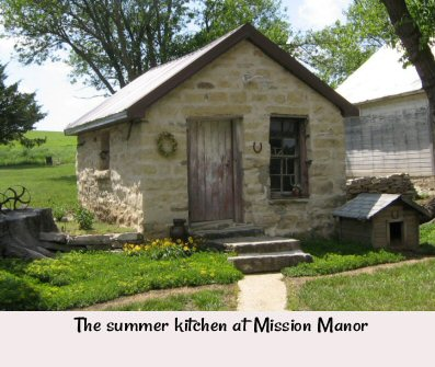 Mission Manor's Summer Kitchen