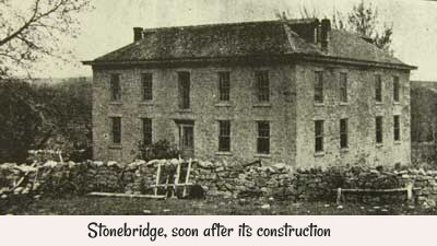Stonebridge, soon after its construction