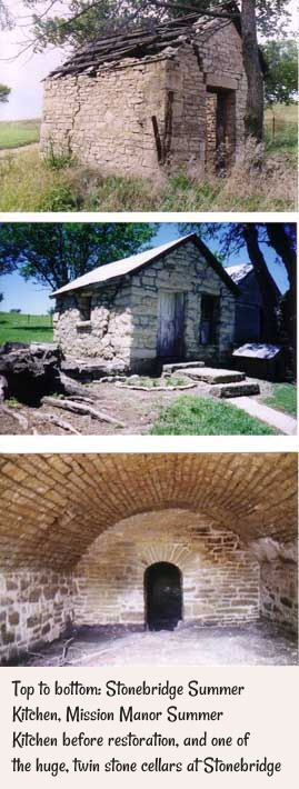 Wabaunsee County Signal Enterprise article on preserving Stonebridge