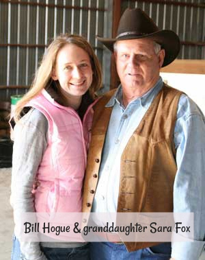 Bill Hogue & granddaughter Sara Fox