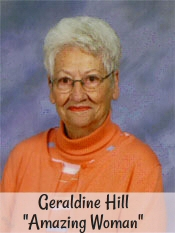 "Geraldine Hill ""Amazing Woman"""